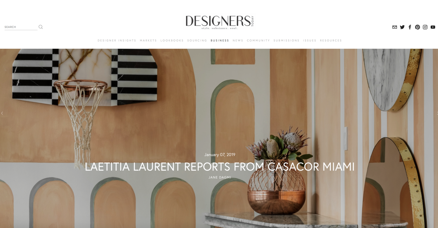 Laure Nell Interiors | Press Coverage - In The News